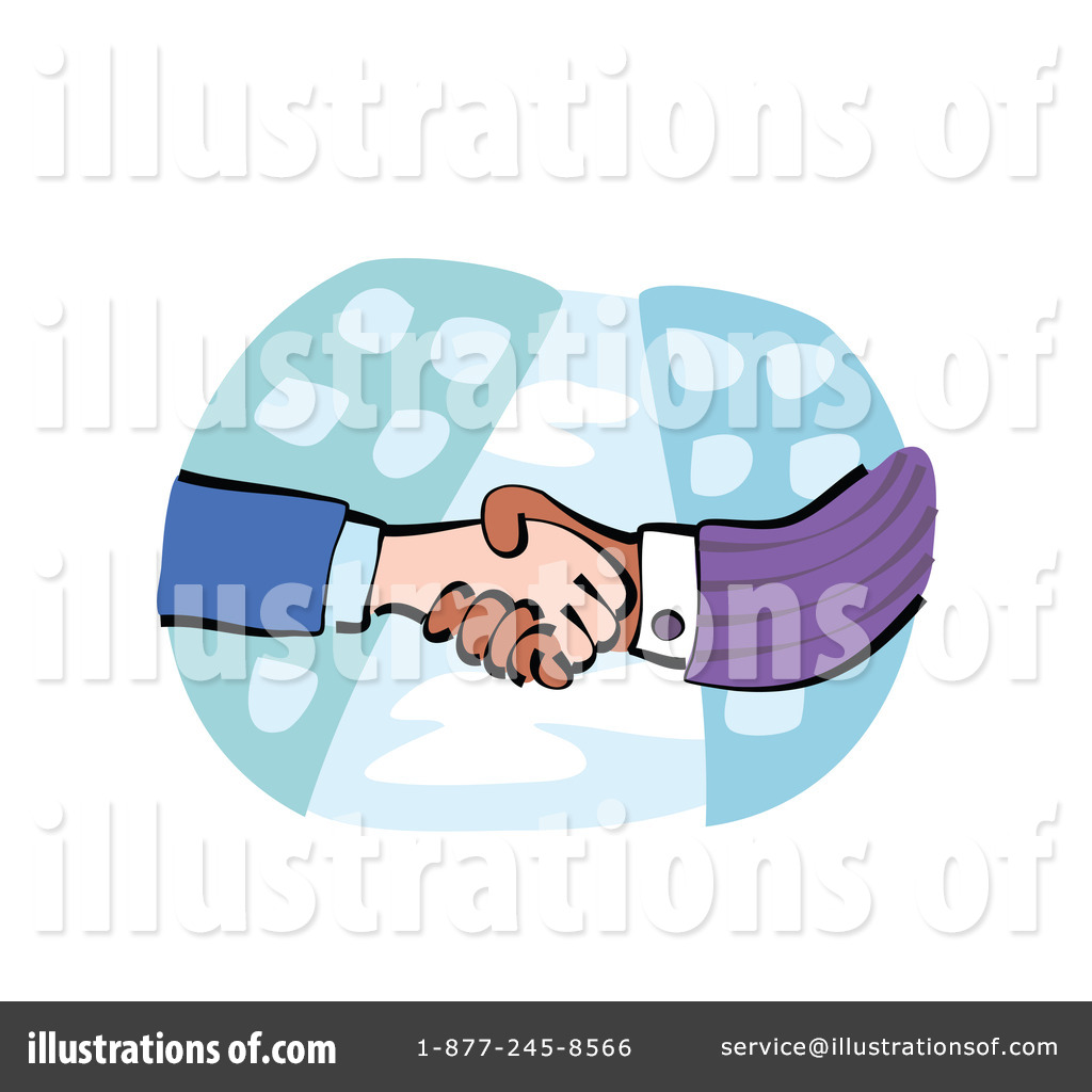 Royalty Free  Rf  Handshake Clipart Illustration By Prawny   Stock