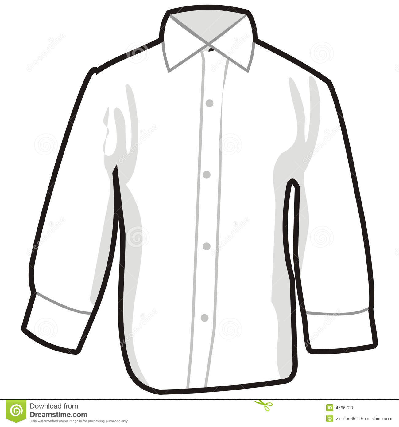 Shirt Royalty Free Stock Photos   Image  4566738
