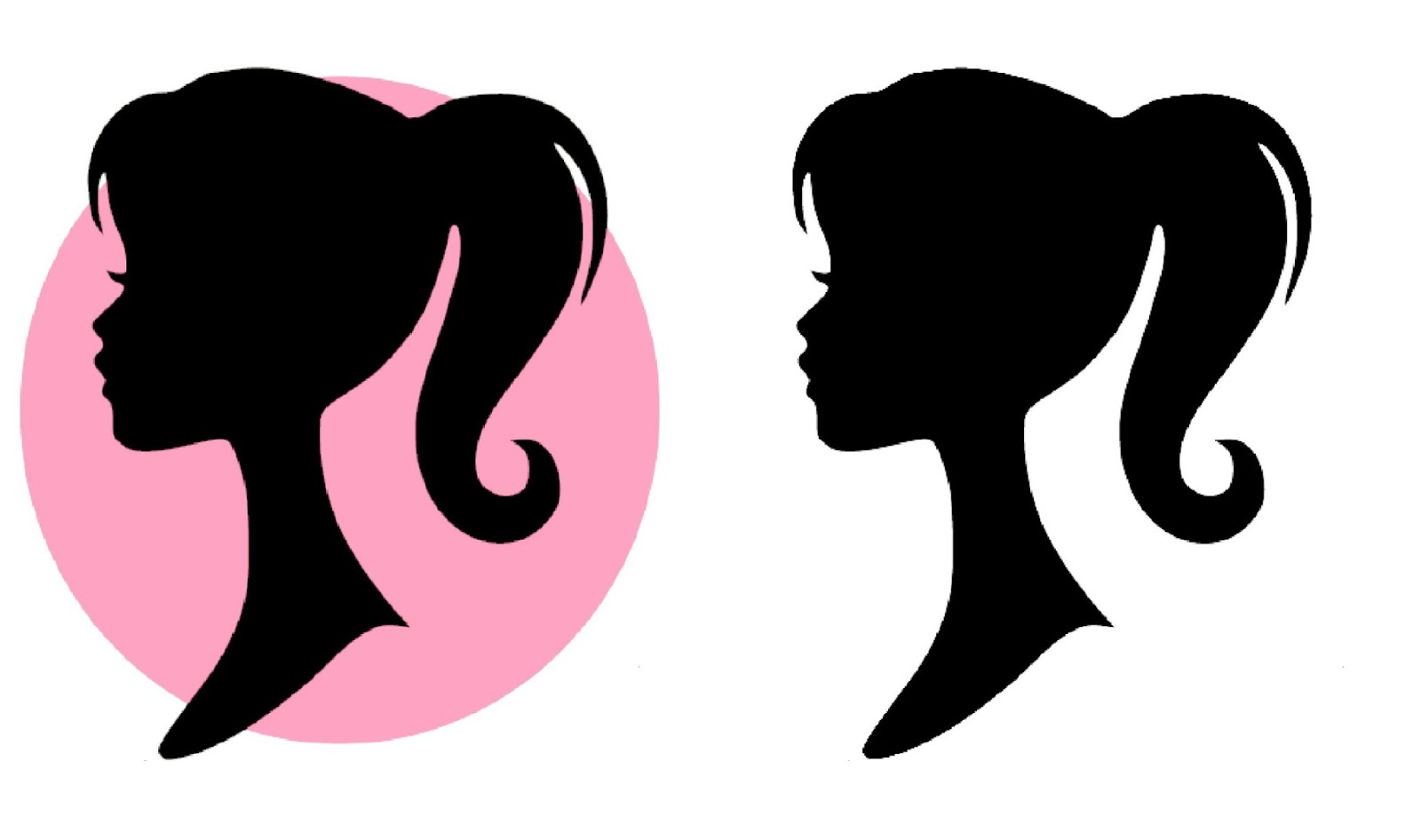 Barbie Silhouette Clipart - Clipart Kid