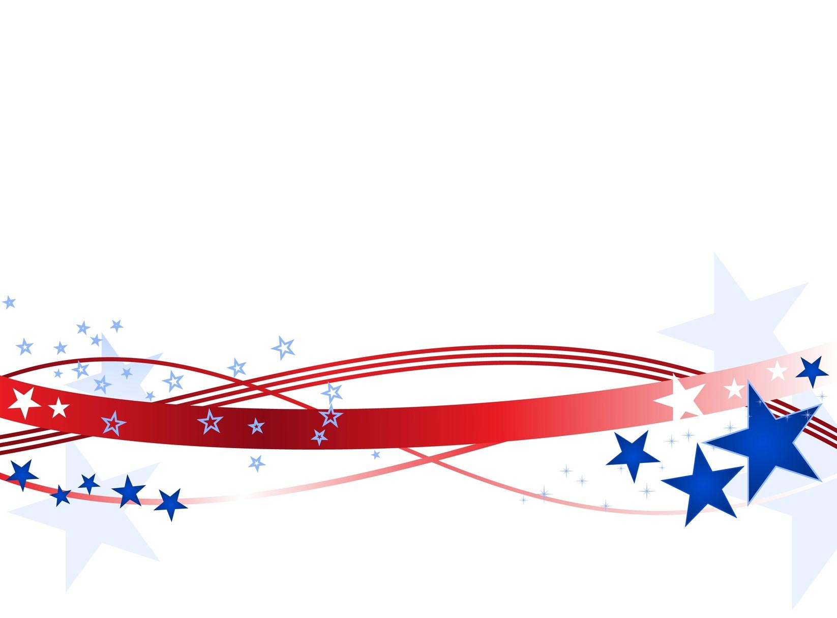 Blue And Red Stars And Stripes Vector
