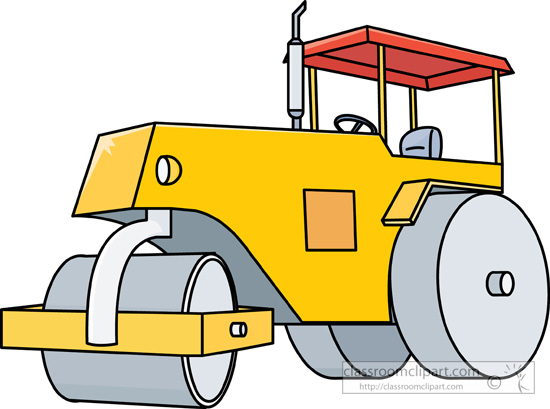 Road Construction Equipment Clipart - Clipart Kid