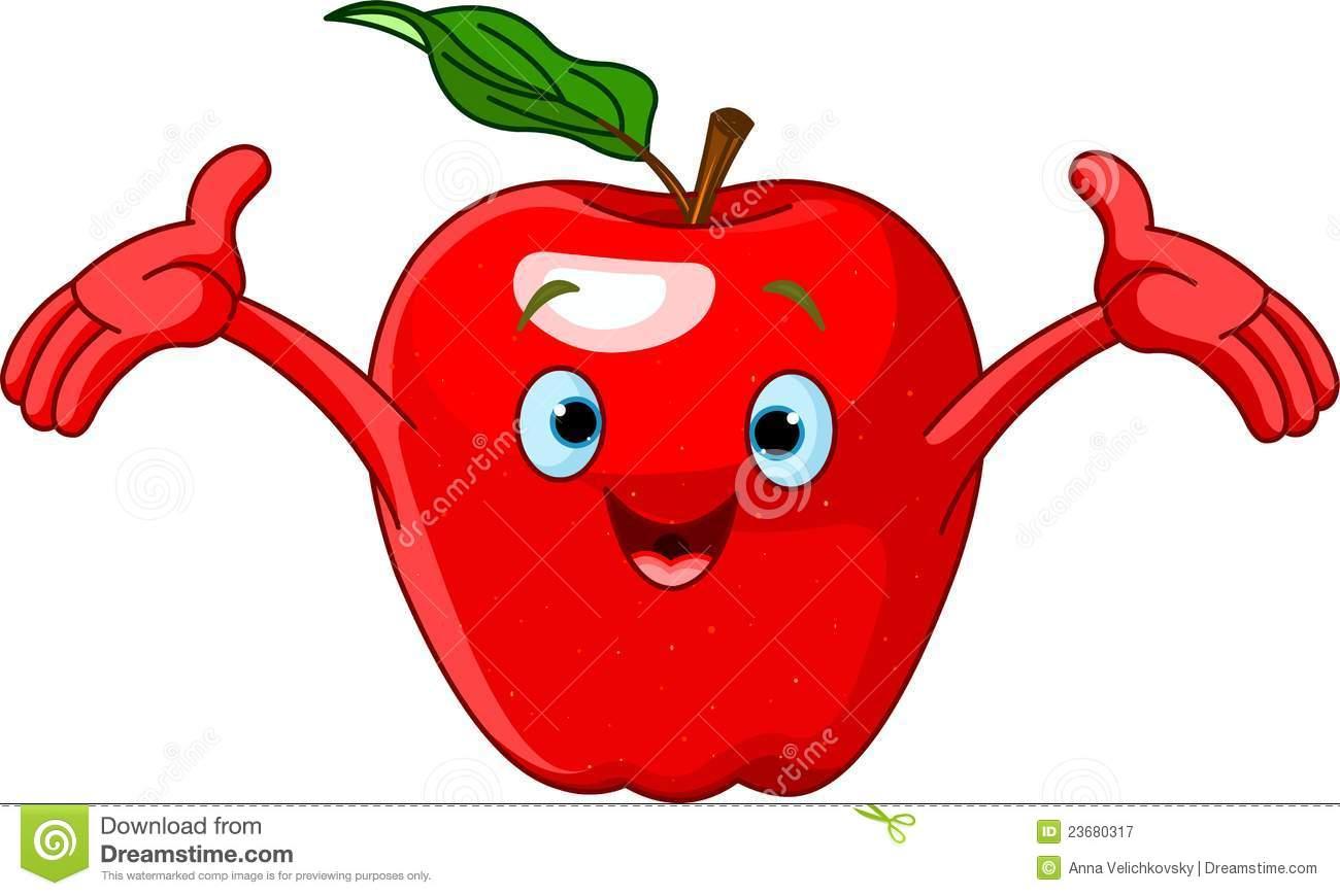 Cute Apple Clipart - Clipart Suggest