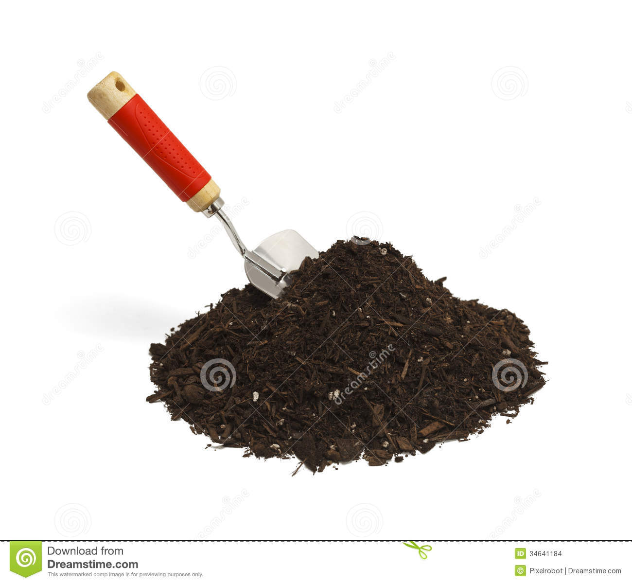 Dirt Clipart Black And White Shovel And Dirt