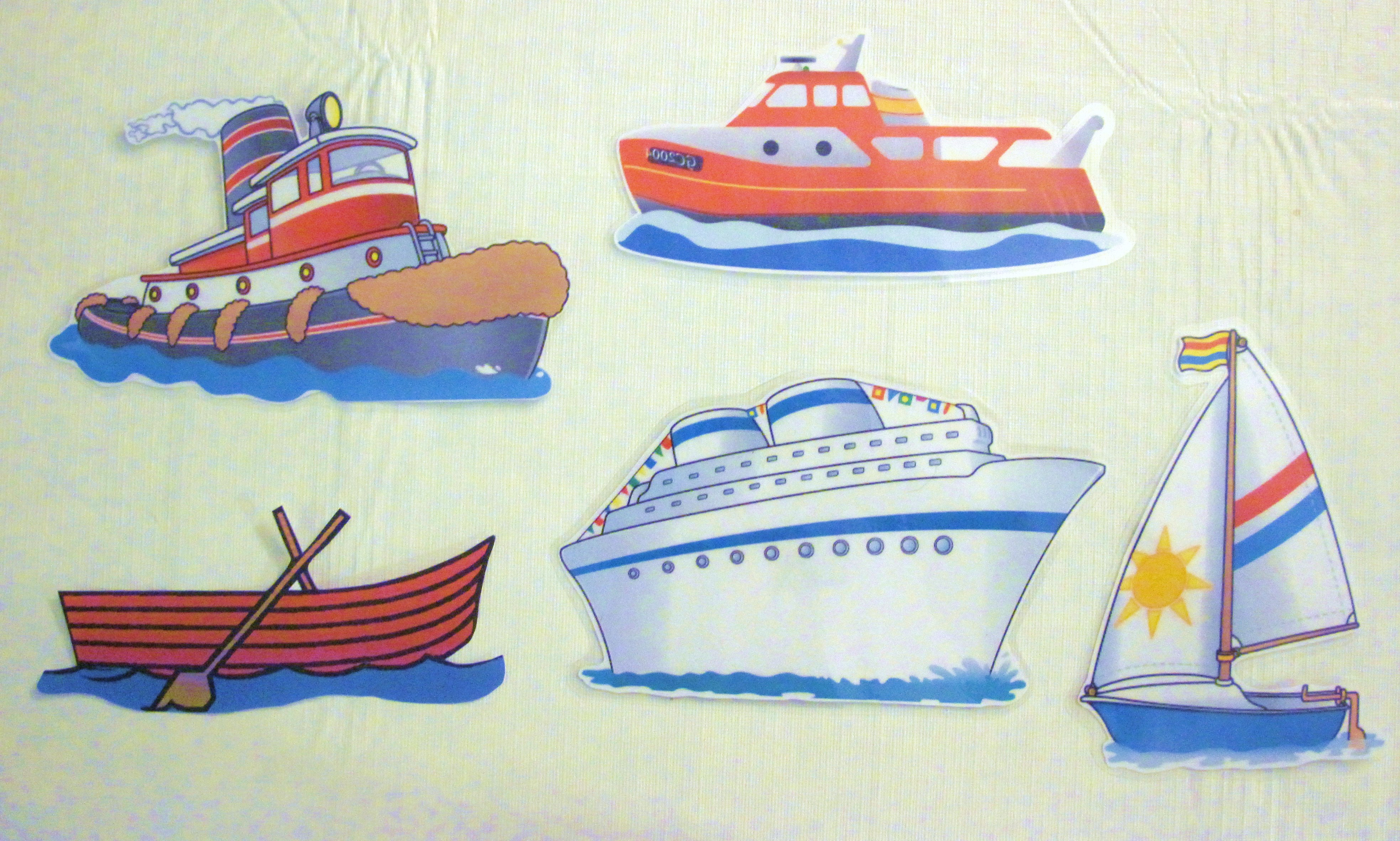 Flannel Rhyme  5 Little Boats   With Printables
