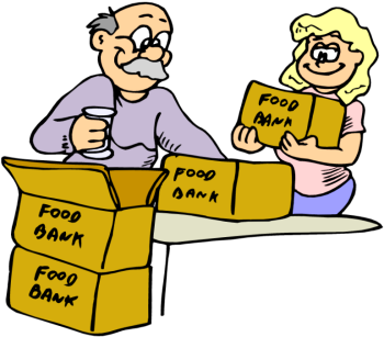 Food Bank Volunteer Clip Art Images   Pictures   Becuo