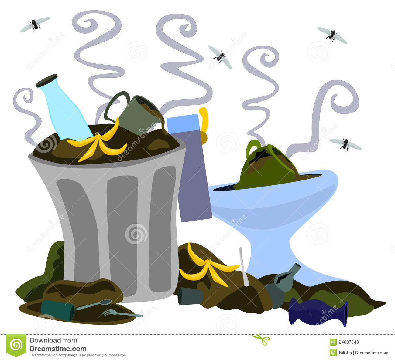Garbage Dump Stock Photo   Image  24007640