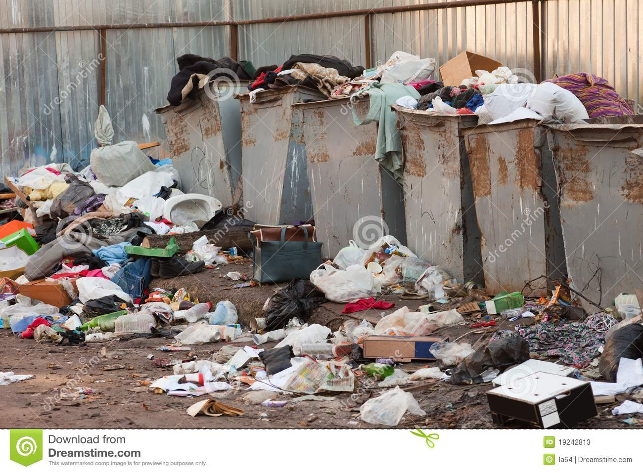 Garbage Dump Stock Photos   Image  19242813