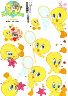 Looney Tunes Tweety Cartoon Scrapbook Clipart 1 Halloween Baby Looney