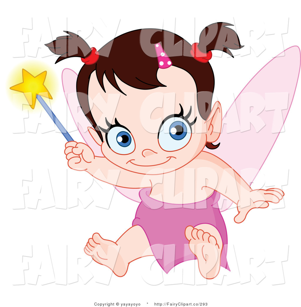 Cute Baby Fairy Clip Art  Related Images