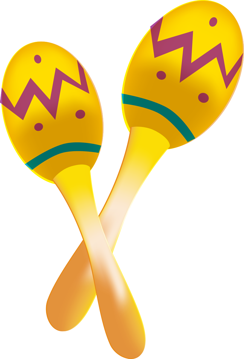 Maracas Clipart - Clipart Suggest