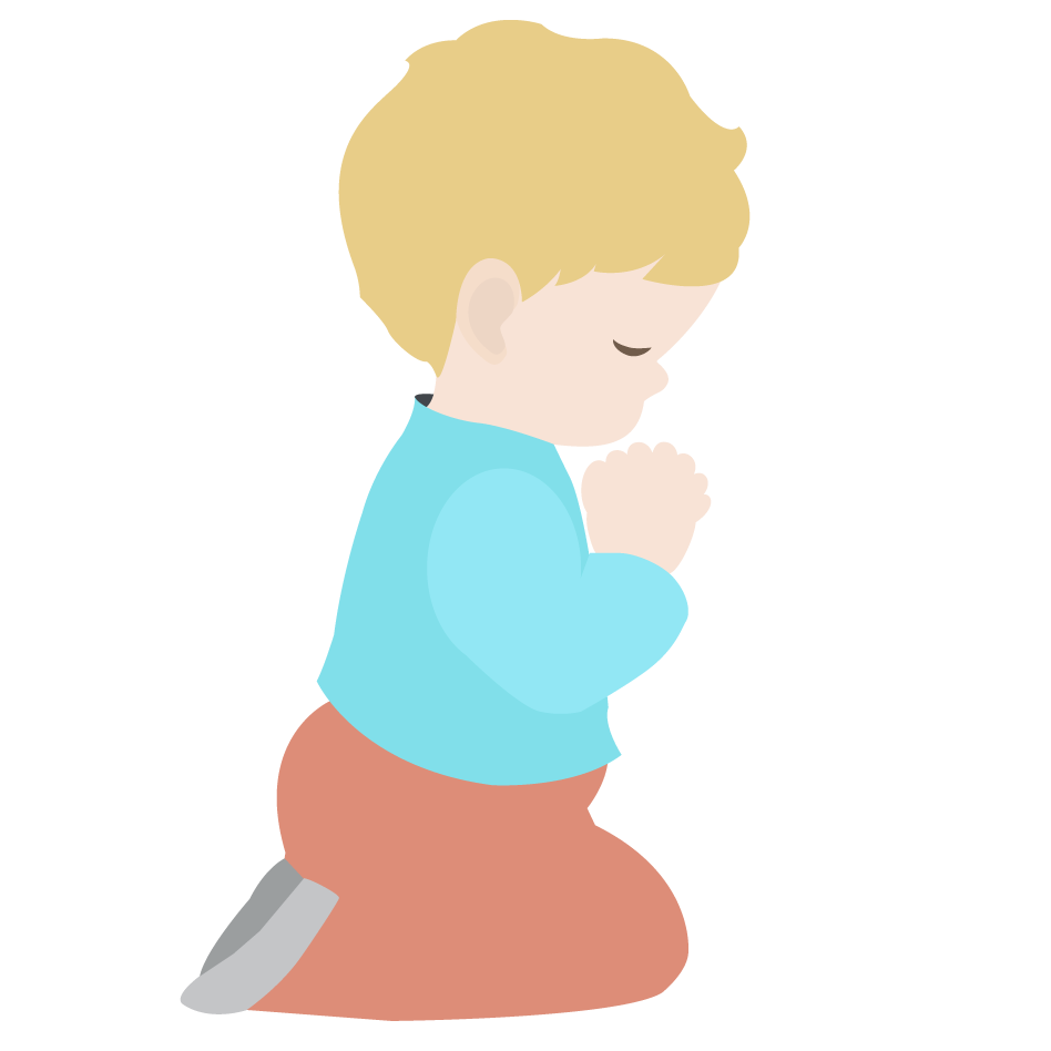 Kneeling In Prayer Clipart - Clipart Kid
