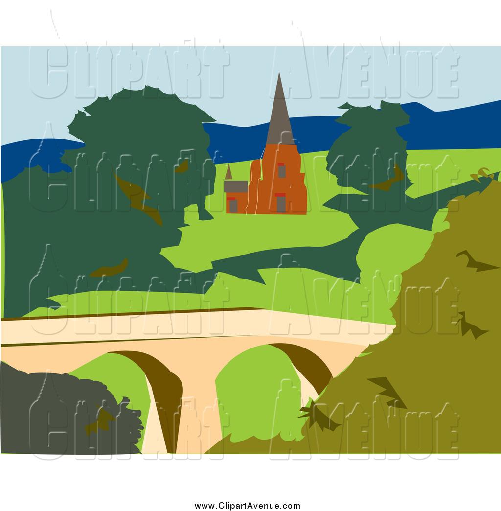 Royalty Free Avenue Clipart Of A Tasmanian Church This Church