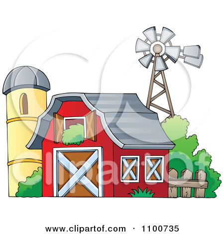 Royalty Free  Rf  Farm Clipart Illustrations Vector Graphics  1