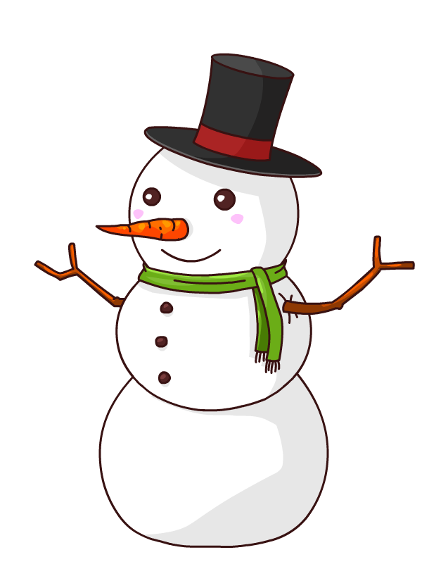 Christmas Snowman Animated Clipart Clipart Suggest