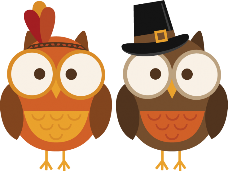 Thanksgiving Owl Clip Art Thanksgiving And Autumn Themed ...