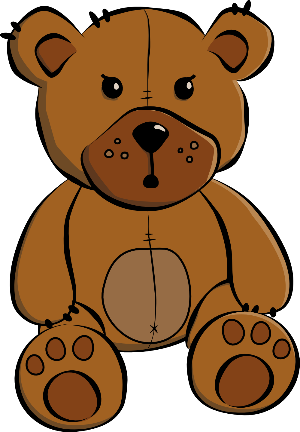 11 Teddy Bear Clipart