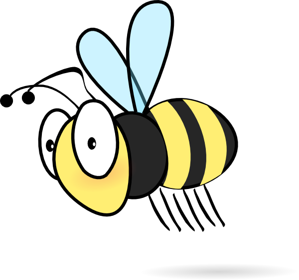 Bee Clip Art At Clker Com   Vector Clip Art Online Royalty Free