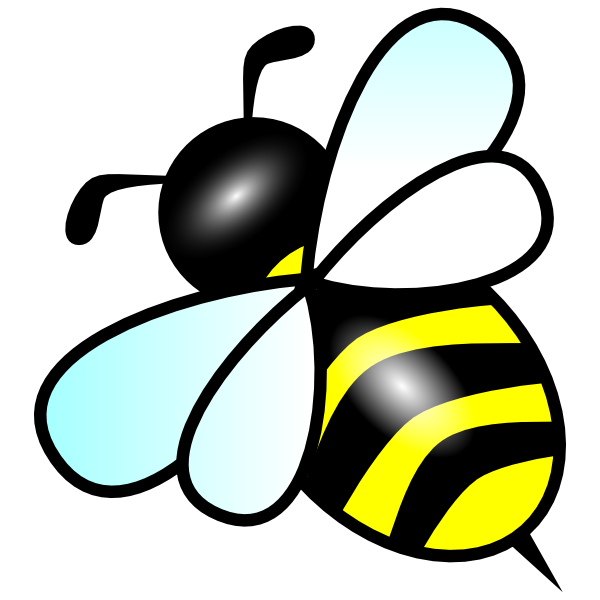 royalty free bee clipart - photo #2