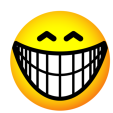 Big Grin Smiley   Clipart Best