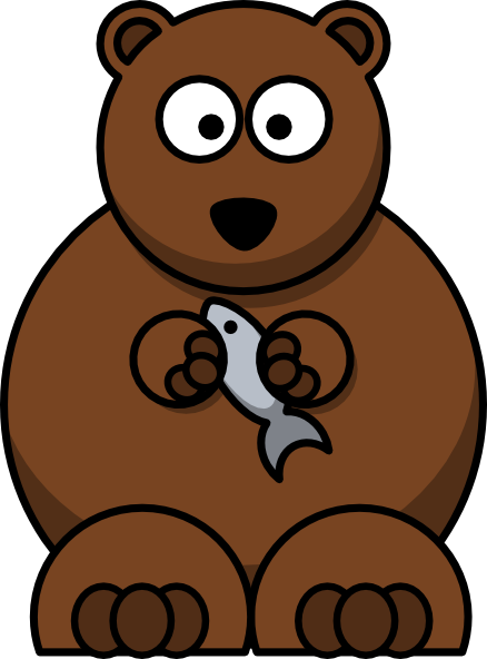 Cartoon Bear Clip Art At Clker Com   Vector Clip Art Online Royalty