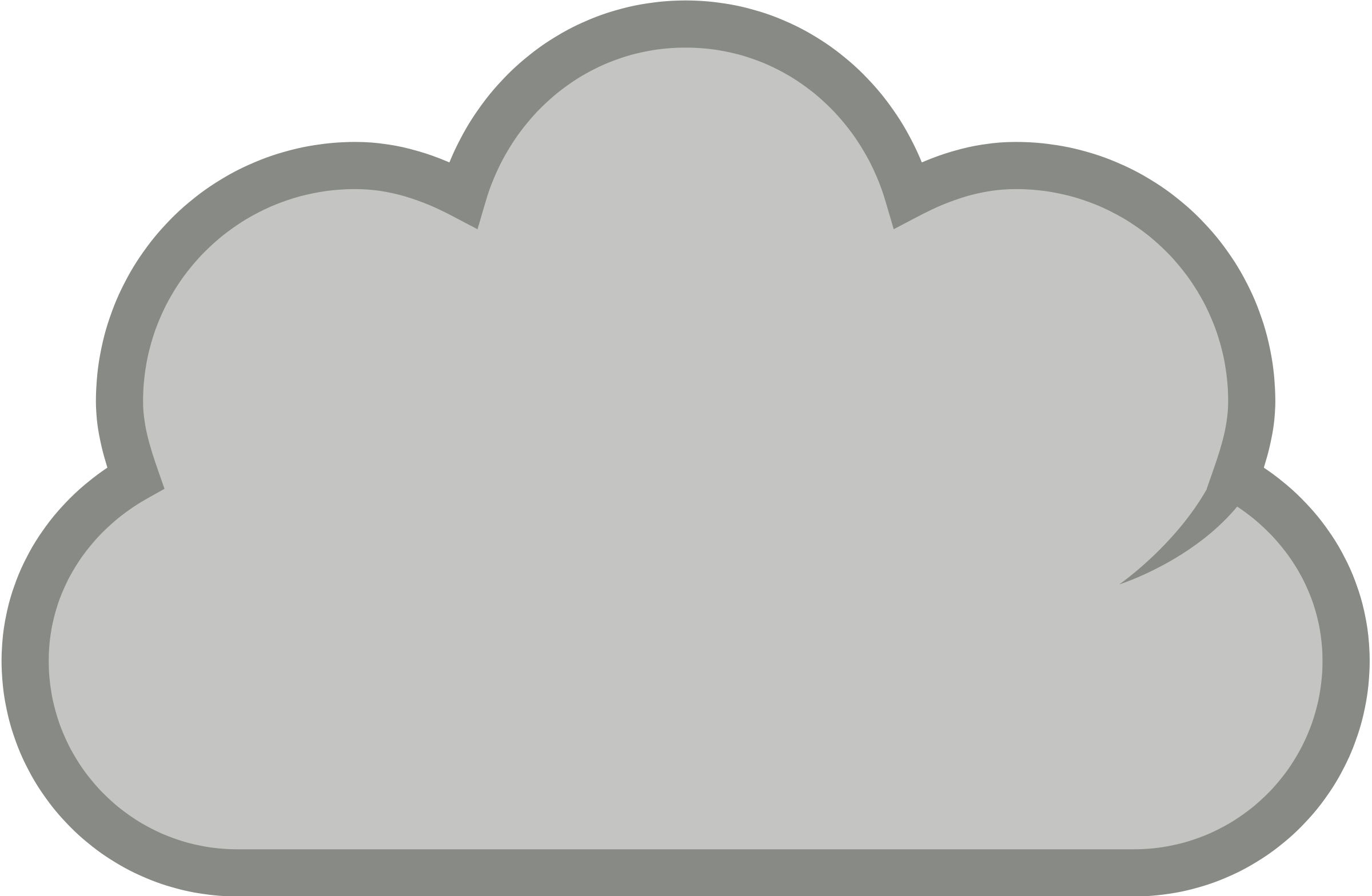 Cloudy Clipart - Clipart Kid