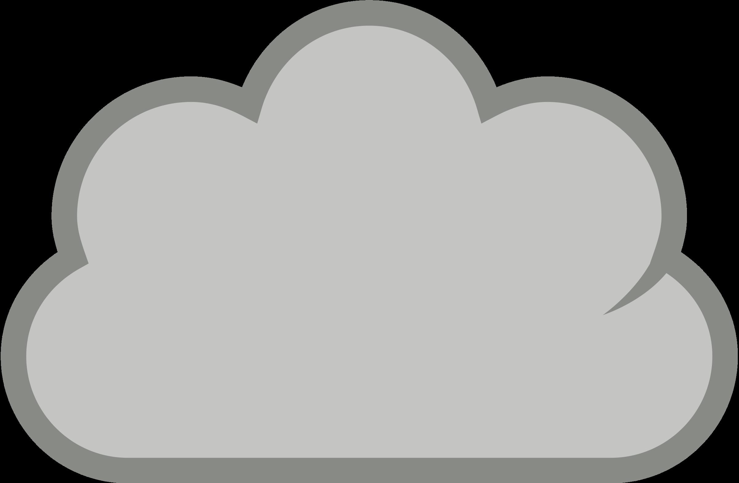 Cloudy Clipart - Clipart Kid