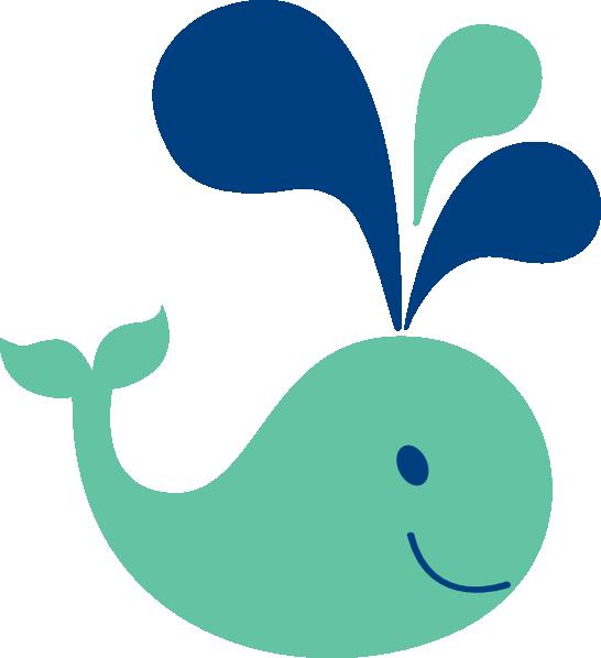 Cute Whale Clip Art At Clker Com   Vector Clip Art Online Royalty