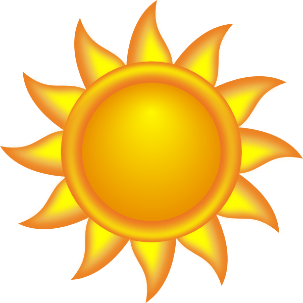 Decorative Sun Clip Art At Clker Com   Vector Clip Art Online Royalty