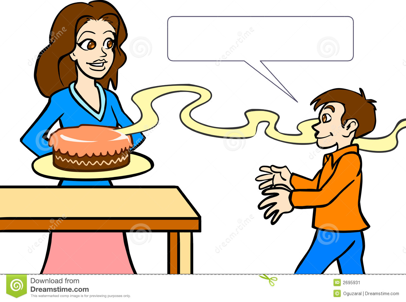 Food Smell Clipart   Cliparthut   Free Clipart