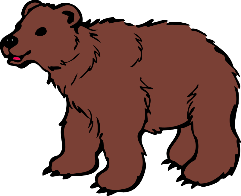 realistic bear clipart - clipart suggest  clipart
