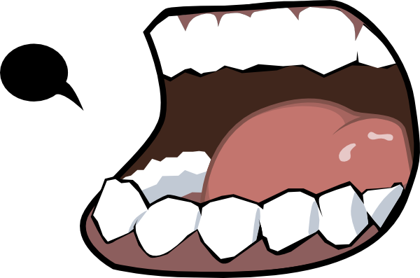 Merzok Dark Mouth Clip Art At Clker Com   Vector Clip Art Online