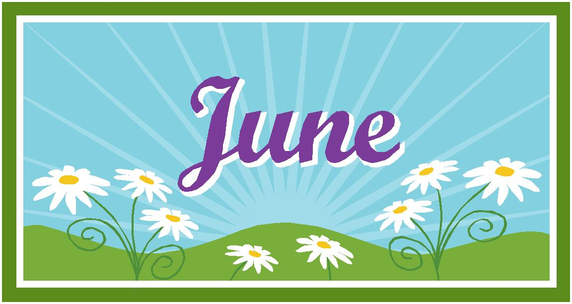 Month of June Clip Art – Cliparts