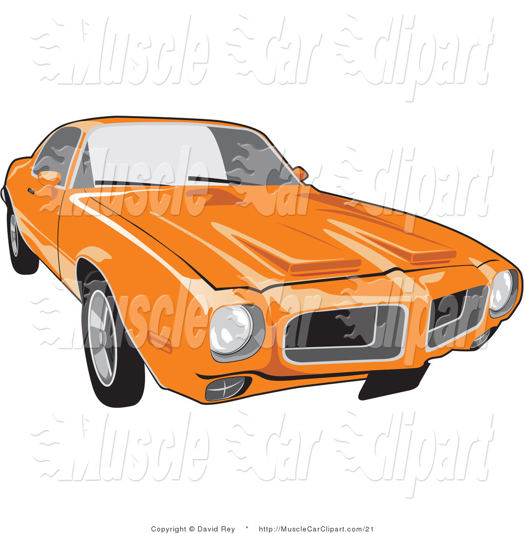 Pontiac Firebird Muscle Car Muscle Car Clip Art David Rey