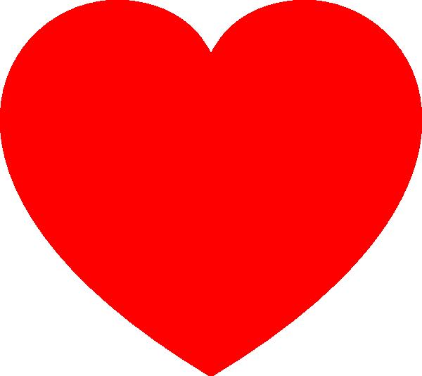 Red Heart Clip Art At Clker Com Vector Clip Art Online Royalty Free