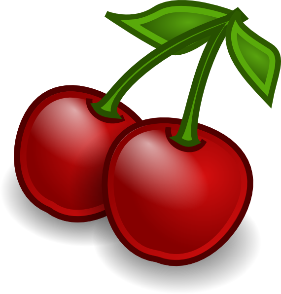Clip Art Cherries Clipart cherry clipart kid rocket fruit cherries clip art at clker com vector online