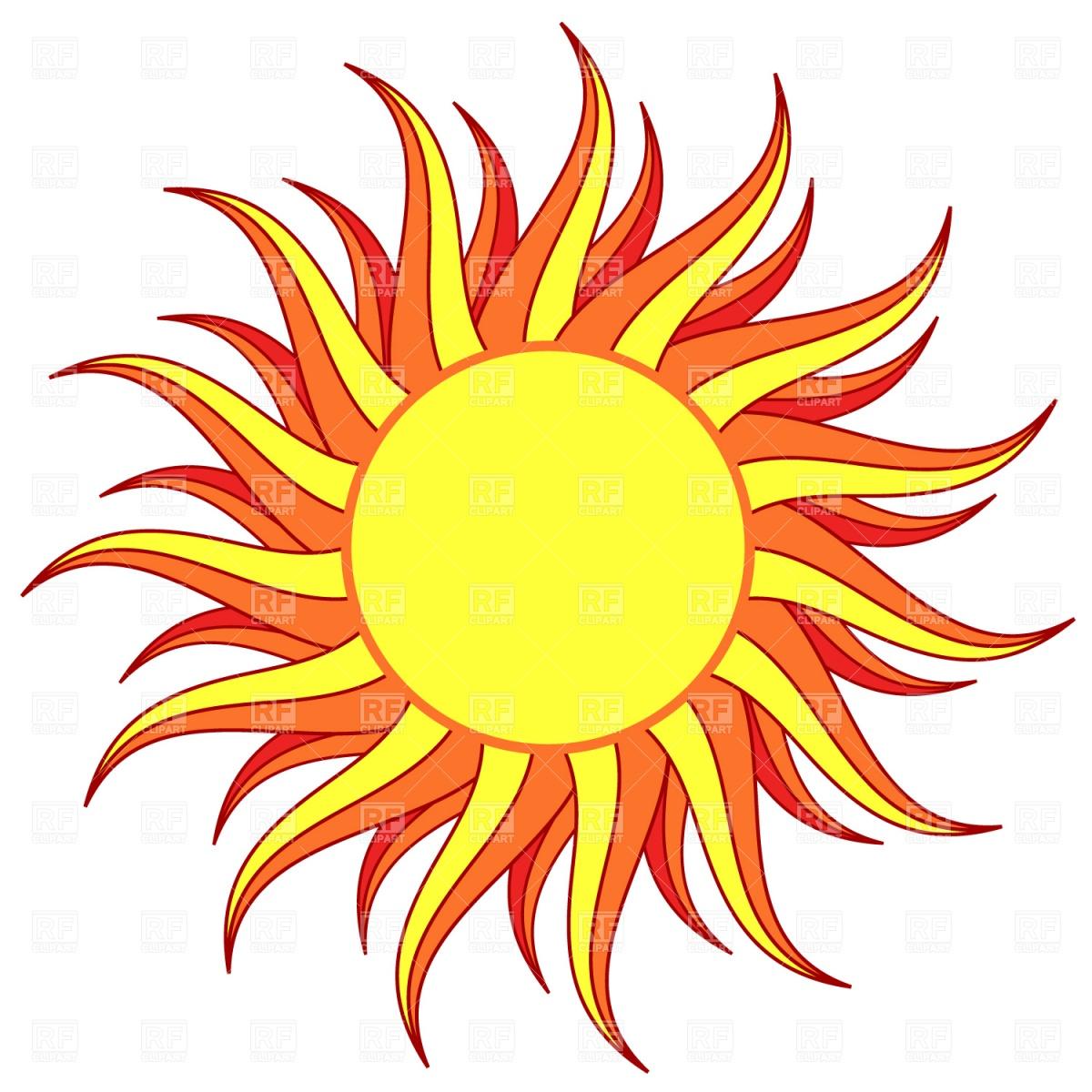 Sun Vector Clipart - Clipart Kid