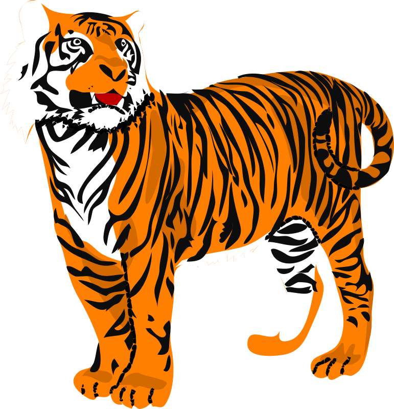 Tiger Clip Art Royalty Free Animal Images   Animal Clipart Org