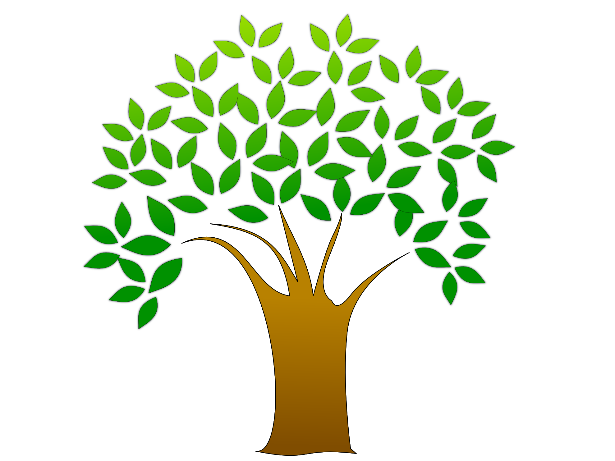 Simple Tree Root Clipart - Clipart Kid