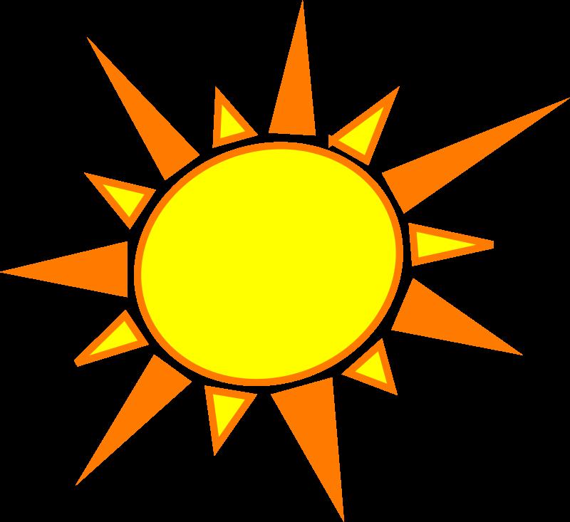 Yellow Sun Clipart - Clipart Kid