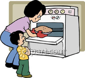 Clip Art Baking Clipart mom baking clipart kid oven kids clipart