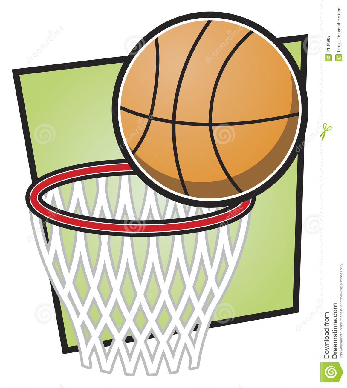 basketball net black and white clipart clipart suggest