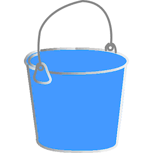 Bucket Clipart Cliparts Of Bucket Free Download  Wmf Eps Emf Svg