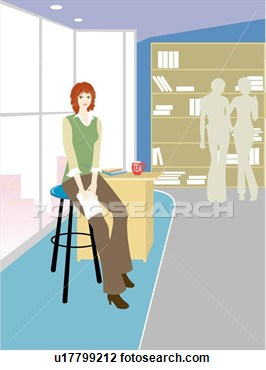 Clip Art   Women Office Lady Office Lady People  Fotosearch