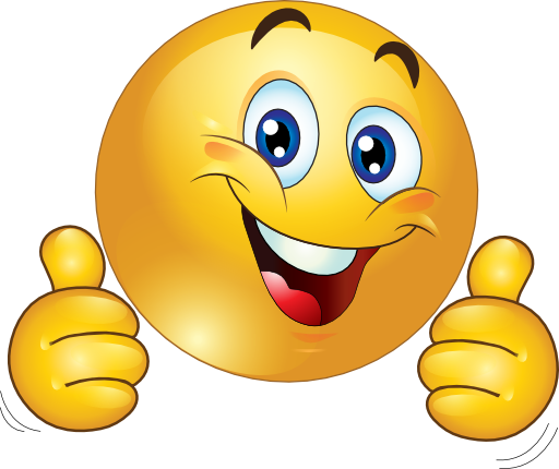 Clipart Two Thumbs Up Happy Smiley Emoticon 512x512 Eec6 Png