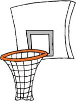 Clip Art Basketball Goal Clipart basketball hoop clipart kid description png