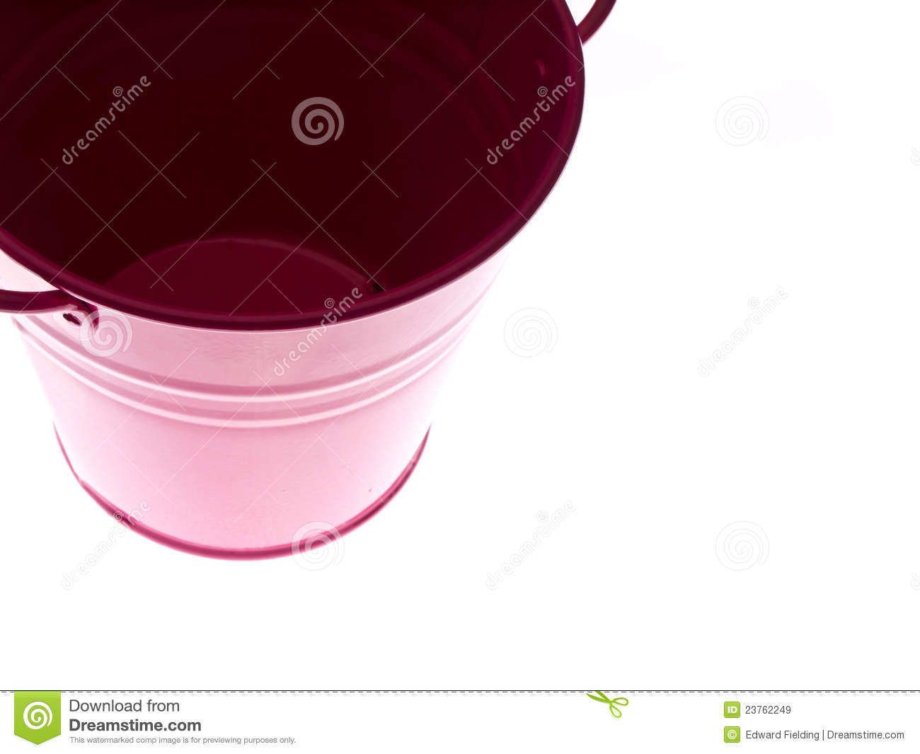 Empty Bucket Royalty Free Stock Images   Image  23762249