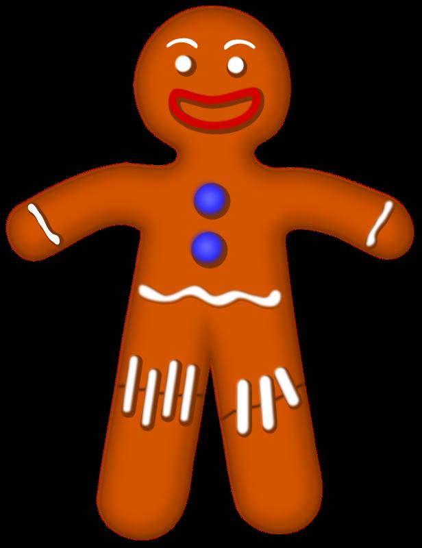 Clip Art Gingerbread Man Clip Art gingerbread men clipart kid man