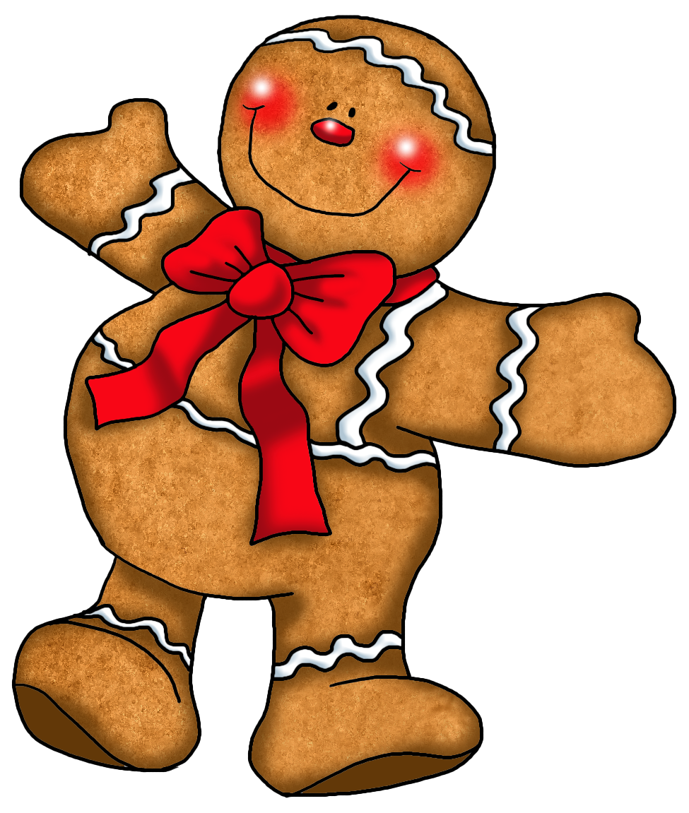 Gingerbread Man   Clipart Best