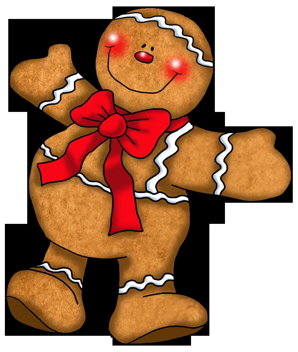Gingerbread Boy Clipart - Clipart Kid