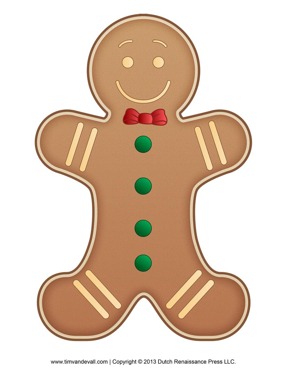 Gingerbread Men Clipart - Clipart Suggest